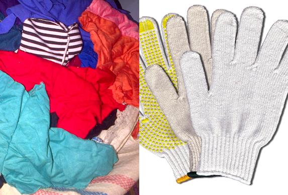 kain majun dan safety gloves