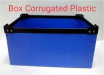 box Corrugated plastic